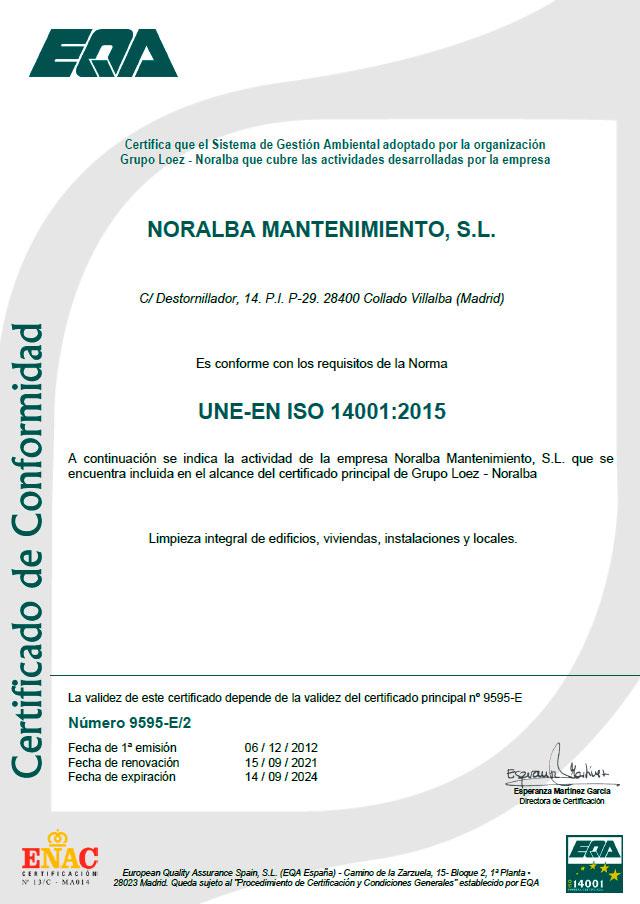 certificado-iso-14001-noralba