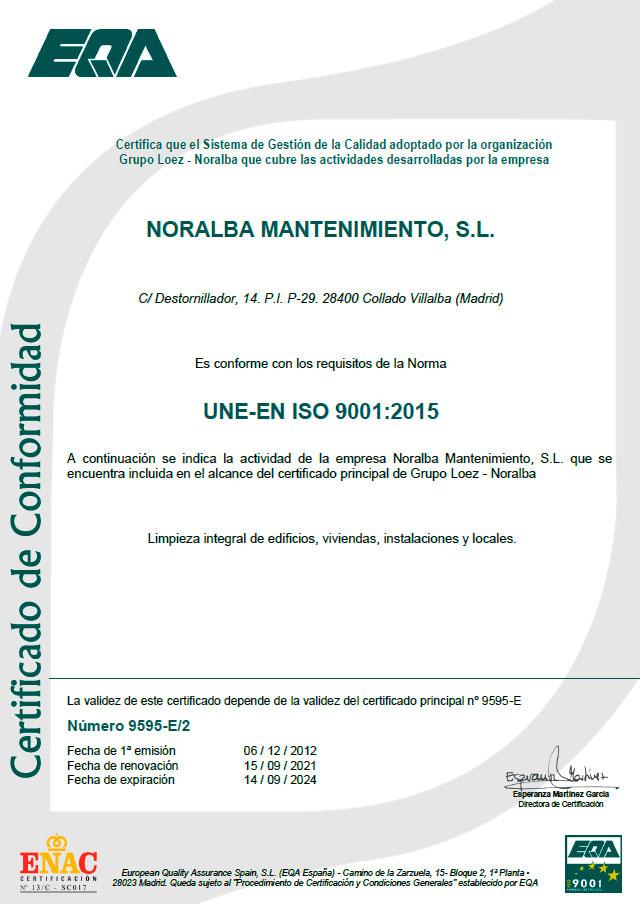 certificado-iso-9001-noralba